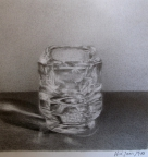 6,Glass Holders 玻璃烛台 28x34.2010, Pencil Drawing铅笔素描